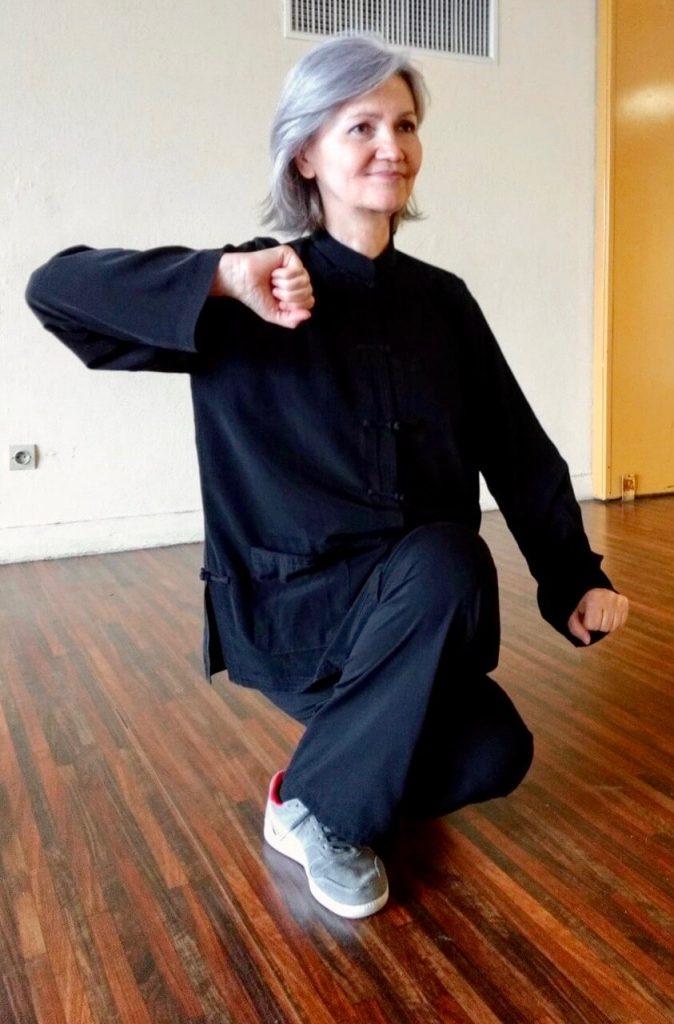 Svetlana Katereou professeur de qi gong